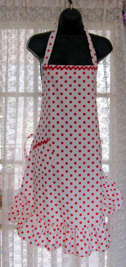 Red&white-dot-apron