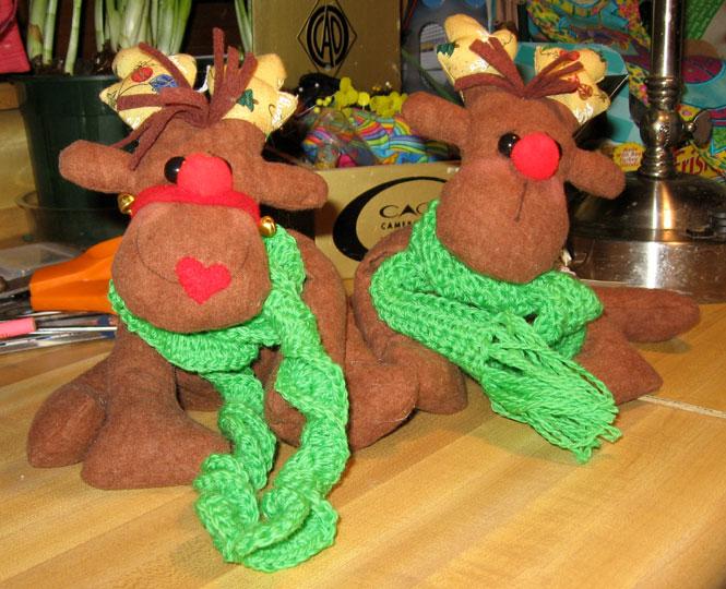 Reindeer-couple