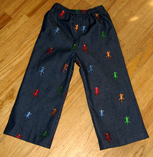 Lizard-pants