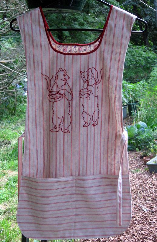 Bear-apron