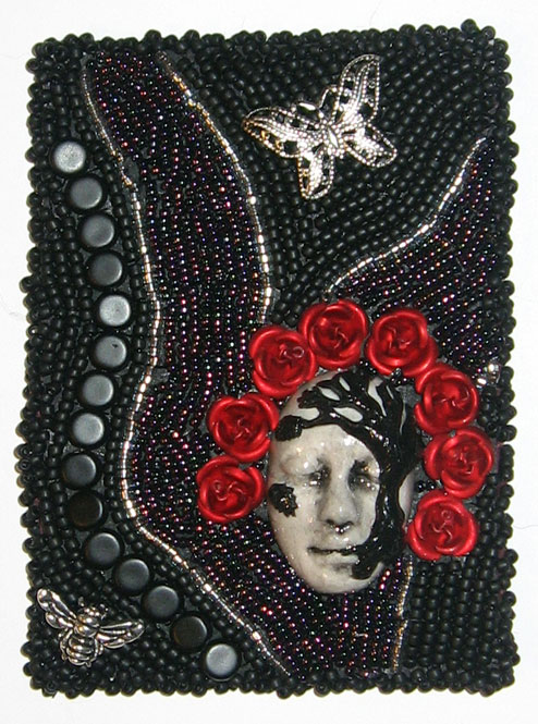 Death-with-roses