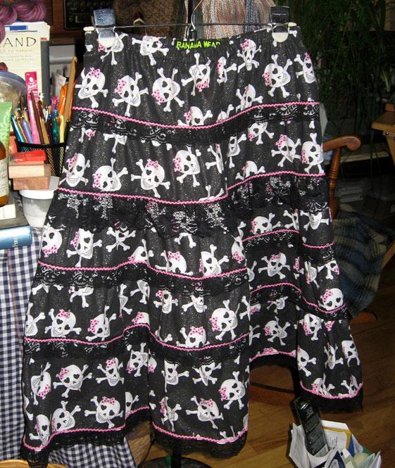 Elizas-skull-skirt