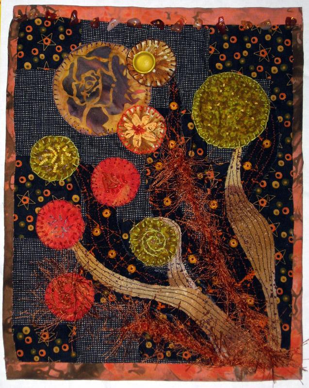January journal quilt