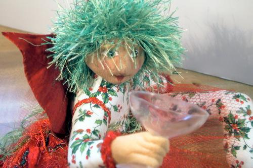 Tipsy Christmas Fairy Closeup