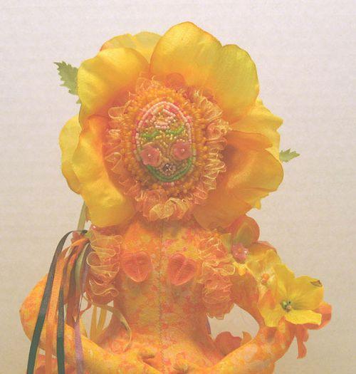 Flower Goddess closeup