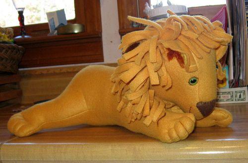 Madalyn's Lion