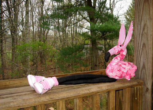 The Easter Flamingo