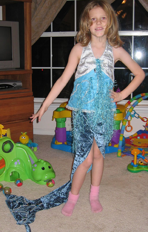 Mermaidinpinksocks
