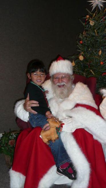 Emma_and_santa